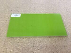 """G10: Toxic Green 3/8""""  6"""" x 12"""" Sheet for Wood Working, Knife, Bush"""