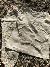 Pyjama 2 pièces - fille - 6/7 ans - beige motif papillons