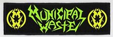 MUNICIPAL WASTE SUPERSTRIP PATCH / SPEED-THRASH-BLACK-DEATH METAL