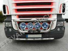 Grill Bar + Spots For DAF XF 1995 Truck Chrome Stainless Steel Lamps Front Bar