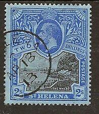 ST HELENA 1912-16 KGV  2/- WHARF SG80