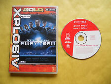 PC GAME-STAR TREK-AWAY TEAM-Computer-Gioco-Games-ITALIANO