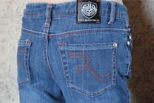 Rock & Republic Kiedis Womens Orange Stich Jeans size 31