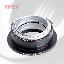 Kipon Advanced Adapter for Contax RF Rangefinder Lens to Sony E Mount Camera NEX