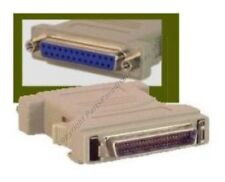 Lot10 50pin SCSI2 Male Plug~DB25 Female Jack, cable/cord/wire Adapter PC/SUN/MAC