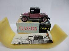 corgi 9031 renault lavender 1910 boxed vintage 1965-68