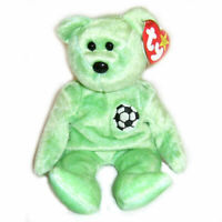 Ty beanie babies kicks the bear 1999 edition rare retired BNWT UK seller