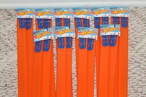 """New Hot Wheels Track Builder Lot Of 20 - 24"""" Pieces Orange Track 40' total feet!"""