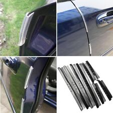 8Pcs Clear Car Door Edge Guards Trim Molding Protection Strip Scratch Protector