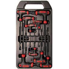 T-Griff Schlüssel-Set für T-Profil (Torx m. Stirnloch) von BGS Kraftmann #170905