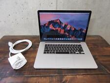 "Late 2013 RETINA MacBook Pro 15"" 2.6ghz i7 / 16GB RAM / 256GB SSD / IRIS PRO"