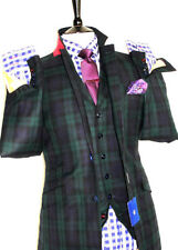 Wool Double Striped Suits & Tailoring for Men 32L