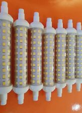 LAMPADINA R7S LED 118 MM 12 W WATT 220V LUCE BIANCA FREDDA LAMPADA SLIM Ø 20 MM