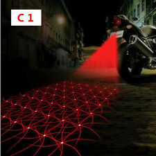 Motorcycle Rear Decorative Laser Safety Anti Collision Fog Light Lamp For Honda