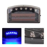 6 LED Car Solar Charger Security Burglar Alarm Lamp Warning Sensor Flash Light