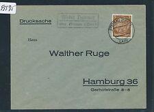 99975) paese post ra2 bassa Dammer tramite Steinau (o) DS 1936