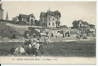 CPA 50 - SAINT-PAIR-SUR-MER - La Plage