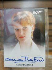 James Bond Classics 2016 Samantha Bond Autograph Card