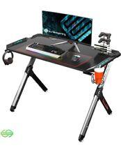 Eureka Ergonomic R1-S Gaming Desk - Gaming desk Carbon Fiber Texture Desktop