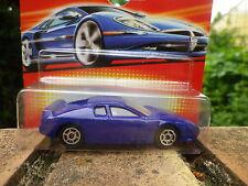 MAJORETTE Voiture GT RACING bleue ref 211 échelle 1/60 Neuf boite blister scellé