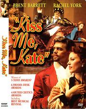 Kiss Me Kate (DVD, 2003) Brent Barrett, Rachel York; Cole Porter; revival; PBS