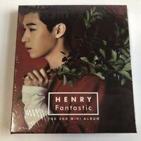 HENRY FANTASTIC The 2nd Mini Album Vol.2 CD+PHOTOCARD SEALED