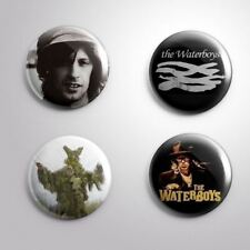 4 THE WATERBOYS - Pinbacks Badge Button Pin 25mm 1''