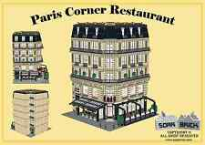 Custom instruction, consisting of LEGO elements - Paris Corner Restaurant
