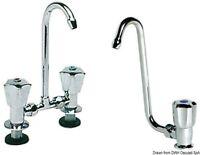 Wasserhahn Mit Einhebelmischer Schlank Wasser Warm//Kalt Marken Osculati