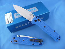 Benchmade 535 Bugout Axis Knife S30V Plain Edge Blue Grivory