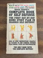 Bruce Tegner's Complete Book of Self-Defense (1965, Vintage Bantam Paperback)