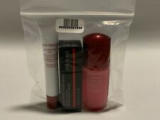 Shiseido Ultimune 3 piece Travel set -concentrate -eye concentratre -lipstick