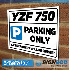 YAMAHA YZF 750  Owner Parking Metal Sign Gift - Birthday Present