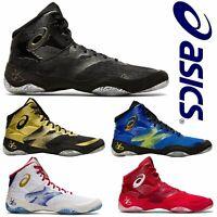 ASICS JB Elite Wrestling Shoes Boxing Boots Trainers Mens Ringerschuhe 1081A016