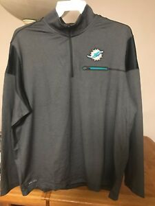 Miami Dolphins Nike Jacket  Dri-Fit Sweater Tua Tagovailoa Jersey Medium and 2XL