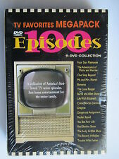 "TV FAVORITES MEGAPACK(9 DVD COLLECTION) ""BRAND NEW"" 100 TV EPISODES"