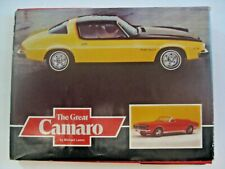 VINTAGE 1978-79 CHEVROLET CAMARO HOT ROD MUSCLE CAR AUTOMOBILE BOOK ~ AWESOME !!