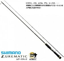 Shimano LUREMATIC Spinning S76ul Light Lure Rod
