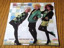 """BELLE & THE DEVOTIONS - LOVE GAMES  7"""" VINYL PS"""