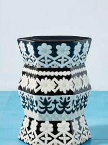 Anthropologie Vallarta Ceramic Stool