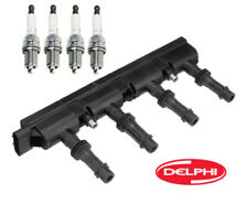 Ignition Coil Pack & Spark Plug DELPHI/AcDelco for Buick Cadillac Chevrolet 1.4L