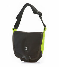 Crumpler 2 Million Dollar Home Shoulder Camera Bag (black/snot green)