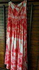 Poof Brand Women's Strapless Sundress or Long Skirt  Size M super soft!