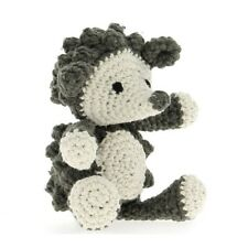 Hazel-Hoooked Diy Amigurumi Hedgehog Crochet Kit-Eco Barbante Cotton Yarn & Hook