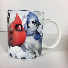 Jim Rathert Bird Coffee Tea Mug Cardinal Blue Jay Chickadee Bluebird