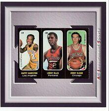 1971 Topps Sticker Basketball ELLIS/SLOAN/HAIRSTON #19,20,21 NM *card for set* M