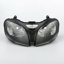Clear Lens Front Headlight Assembly Fit For Kawasaki ZX-9R 00-03 ZX6R 00 01 02