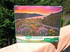 Sunset Show 1500 Piece Jigsaw Puzzle by Mega Brands~New & Factory Sealed!
