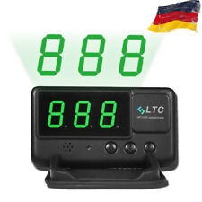Car HUD Head Up GPS Display Tachometer Geschwindigkeit Speed Warning für Auto