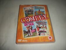 Comedy - 4 Films - Combat Academy - Goint Overboard - Drowning Mona - Picking Up